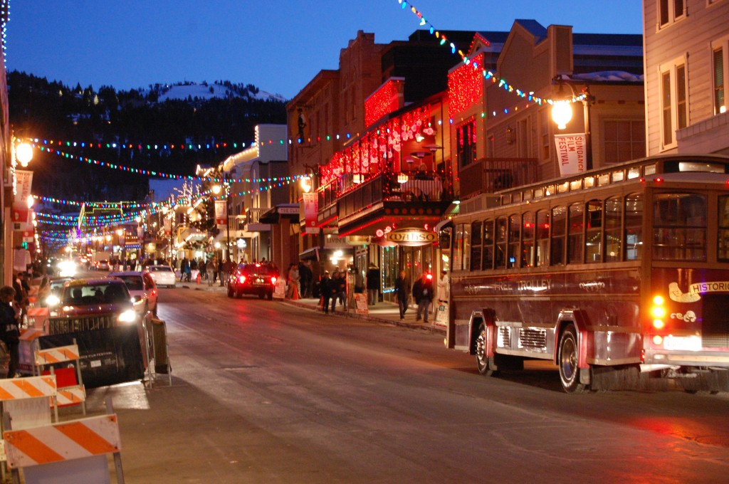 Main Street during Sundance