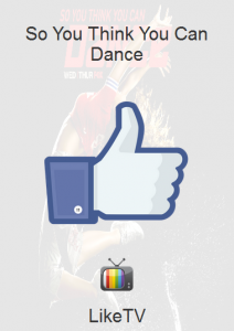 LikeTV mobile web app
